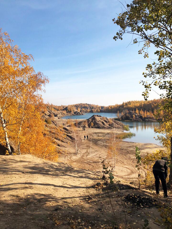 осенний пейзаж в кондуках осень