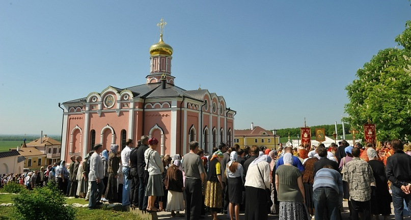 Свято-Иоанно-Богословский мужской монастырь. Пощупово Рыбновский район Рязанская область