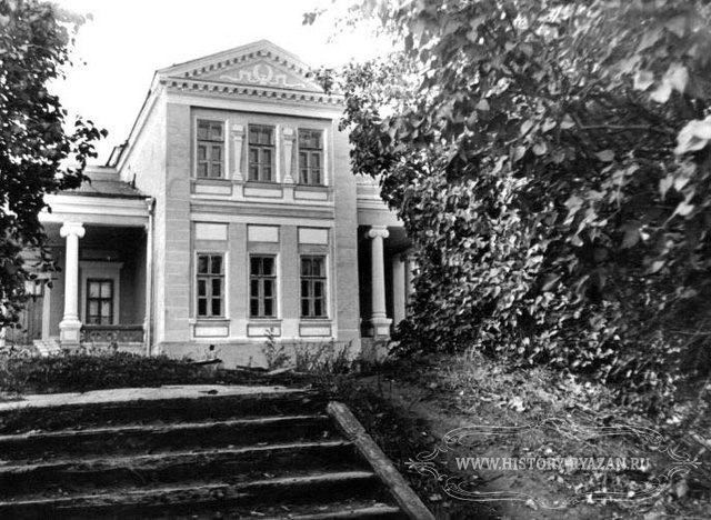 Усадьба Никитинских в селе Костино Рыбновского района 1900 год