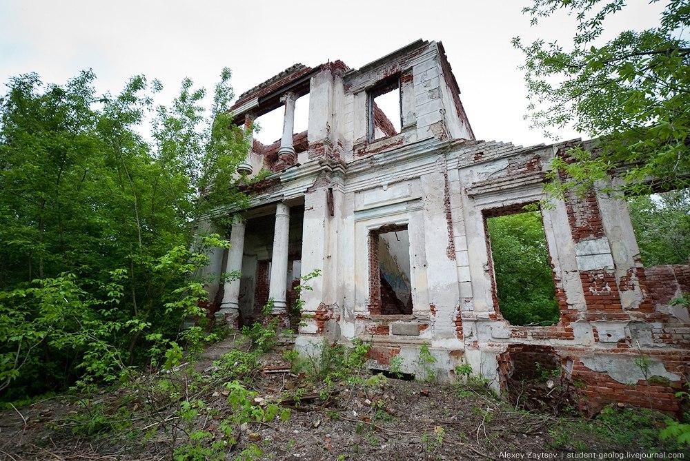 Усадьба Никитинских в селе Костино Рыбновского района