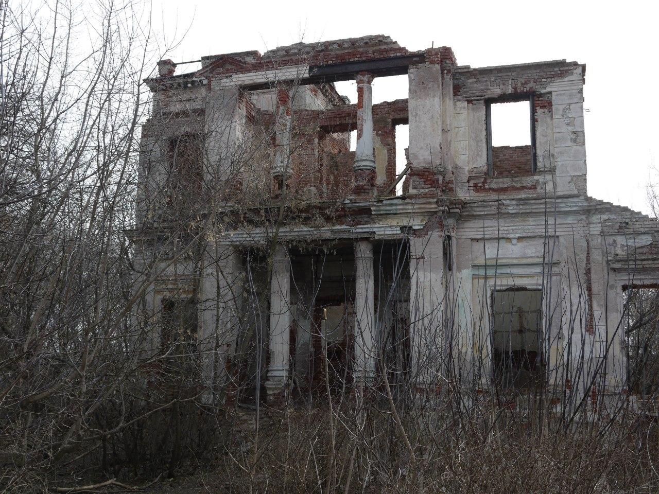Усадьба Никитинских в селе Костино Рыбновского района Рязанской области. Весна, май 2014 года