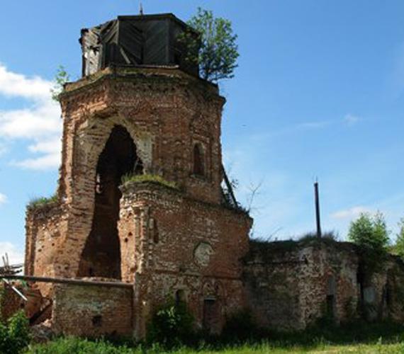 Богоявленская церковь в д. Костино