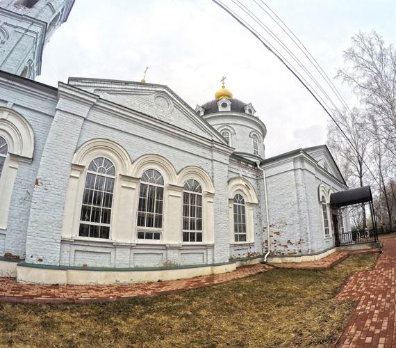 Церковь Космы и Дамиана в Летове