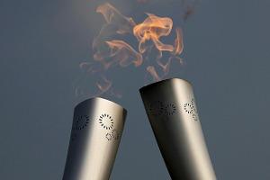 Олимпийский огонь «Сочи-2014» погас в Рязани. Видео