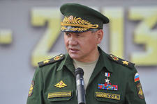 22 августа Серегй Шойгу побывал в учебном центре ВДВ «Сельцы»